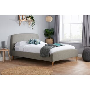 Brennan Upholstered Bed Frame By Hykkon