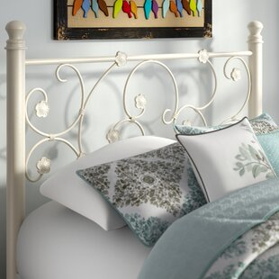 Floret Metal Open-Frame Headboard by August Grove