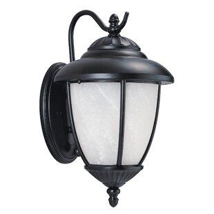 Red Barrel Studio Atisha 100W 1-Light Outdoor Wall Lantern