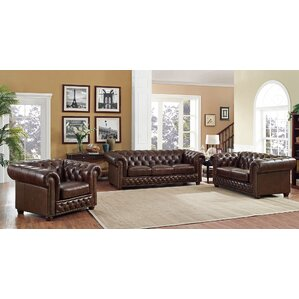 Trent Austin Design Worcester 3 Piece Living Room Set