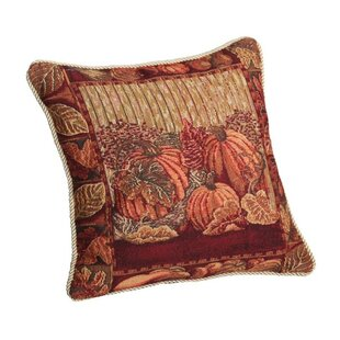 Provost Pumpkins and Autumn Leaves Pillow Cover