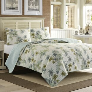 Tommy Bahama Home Serenity Palms Quilt by Tommy Bahama Bedding