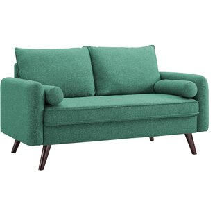 Compare prices Mcelhaney Loveseat by Mercury Row Reviews (2019) & Buyer's Guide