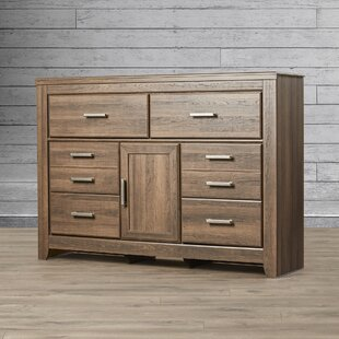 Loon Peak Granite Range 6 Drawer Combo Dr..