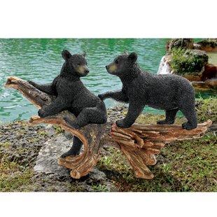 Mischievous Bear Cubs Statue by Design Toscano