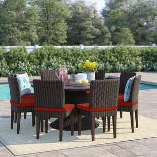 Fairfield 9 Piece Dining Set with Cushions