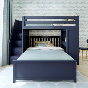 Blue With Stairs Bunk Beds You Ll Love In 2021 Wayfair