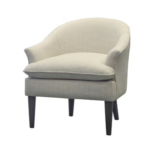 Bargain Haleigh Barrel chair by Charlton Home Reviews (2019) & Buyer's Guide
