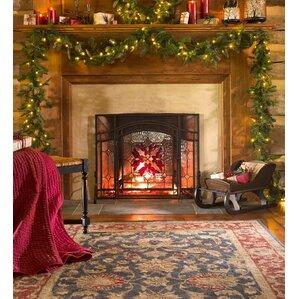 Nordmann Fir Christmas Garland With Light