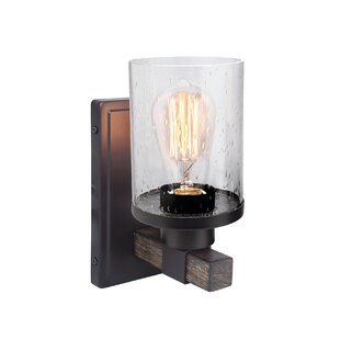 Stocks 1 -Light Bath Sconce by Williston Forge