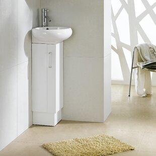 Milan 9 Single Bathroom Vanity Set by Fine Fixtures
