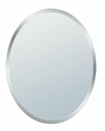 Erias Home Designs Talia Small Beveled Oval Wall Mirror & Reviews ...