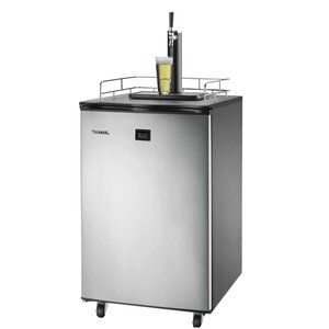 6 cu. ft. Single Tap Full Size Kegerator