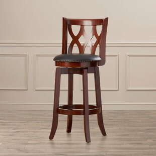 Reviews Harold 29 Swivel Bar Stool By Three Posts