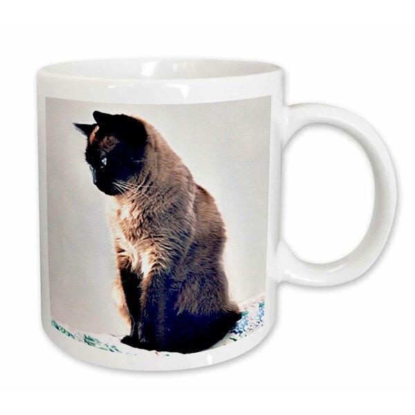 East Urban Home Siamese Cat Coffee Mug Wayfair