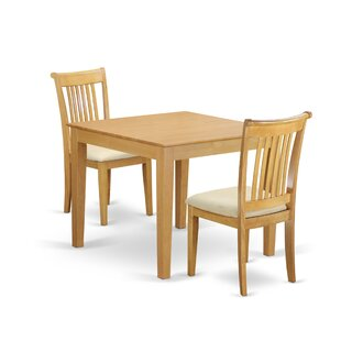 Cobleskill 3 Piece Breakfast Nook Solid W..