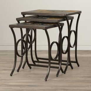 Reviews Poythress 3 Piece Nesting Tables By World Menagerie