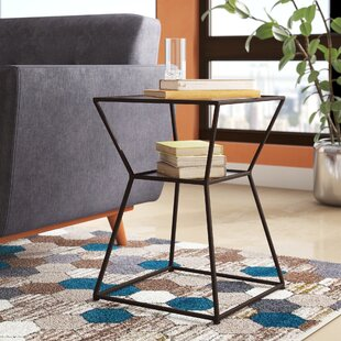 Read Reviews Berthelot End Table ByMercury Row