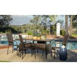 Menahan Outdoor 5 Piece Dining Set