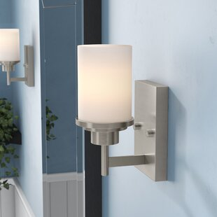 Bristol 1-Light Bath Sconce by Ebern Designs