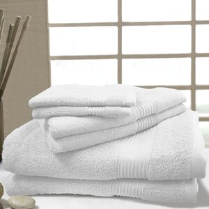 W Home 6 Piece Rayon from Bamboo Spa Towel Set