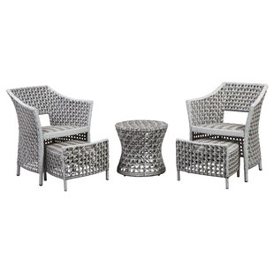 Boland 5 Piece Conversation Set