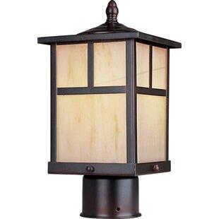 Bo 1 Light Small Outdoor Post Lantern by Loon Peak