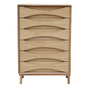 Vodder Tall Boy 6 Drawer Chest