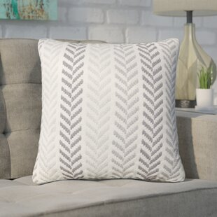 Galilea Chevron 100% Cotton Throw Pillow