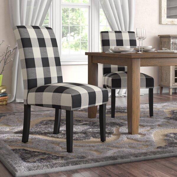 Buffalo Plaid Dining Chair Wayfair
