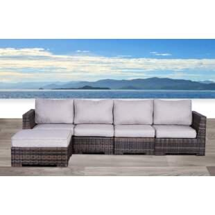 Pierson Resort Patio Sectional with Cushions