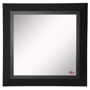 Compare prices Kimzey Attractive Wall Mirror By Charlton Home
