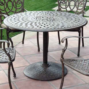 Fairmont Metal Dining Table by Astoria Gr..