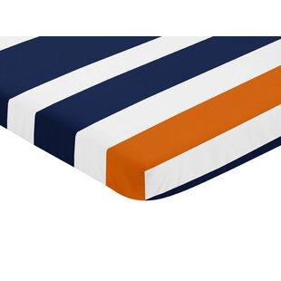 Stripe Mini Fitted Crib Sheet BySweet Jojo Designs