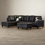 "Russ 103.5"" Sectional with Ottoman"