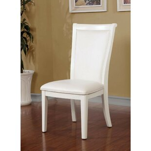 Mamie Upholstered Dining Chair (Set of 2) House of Hampton