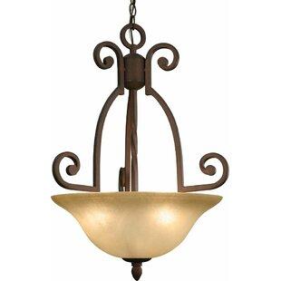 Volume Lighting Isabela 3-Light Bowl Pendant