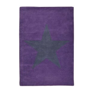 Star Hand-Tufted Purple Area Rug by Lorena Canals