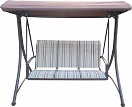 LB International Porch Swing with Canopy