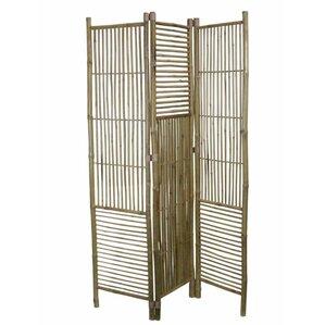 palatine 76 5 x 53 5 foldable bamboo screen 3 panel room divider