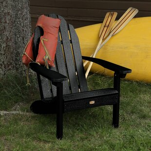 Hamptonburgh Essential Plastic Adirondack Chair by Beachcrest Home Find