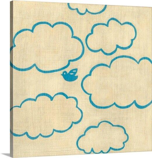 Great Big Canvas Best Friends Sky By Chariklia Zarris Canvas Art Wayfair