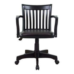 Laberge Mid Back Deluxe Bankers Chair