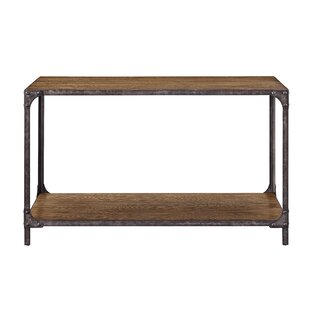 Danette Wood and Metal Console Table