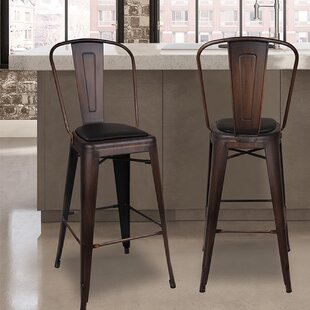 Price Check Braaten 30 Bar Stool (Set of 4) by Williston Forge Reviews (2019) & Buyer's Guide