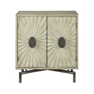 Guglielmo 2 Door Accent Cabinet by Bungalow Rose