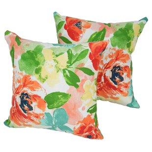 Designer Indoor/Outdoor Throw Pillow (Set of 2)