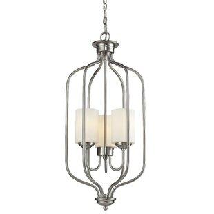 Charlton Home Weatherly 3-Light Lantern Pendant