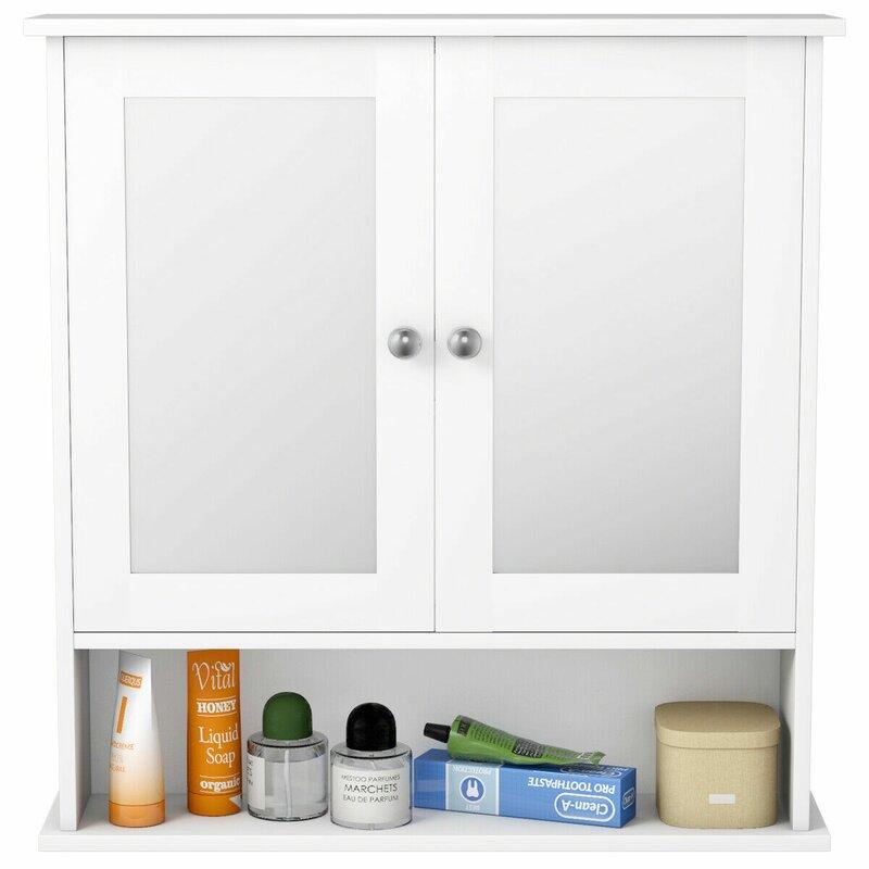 Latitude Run Arnit 22 W X 23 H X 5 D Wall Mounted Bathroom Cabinet Wayfair