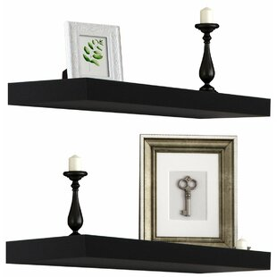 Heszler Floating Shelf (Set of 2)